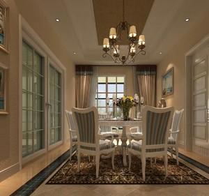 2016大户型餐厅室内设计装修效果图鉴赏