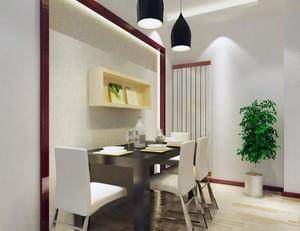 小户型欧式餐厅背景墙设计装修效果图实例