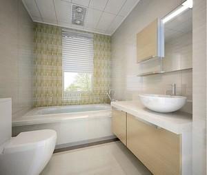 2016经典的大户型欧式卫生间装修效果图实例