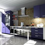 2016经典的欧式风格厨房装修效果图鉴赏
