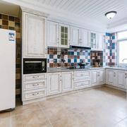 2016欧式大户型厨房橱柜设计装修效果图