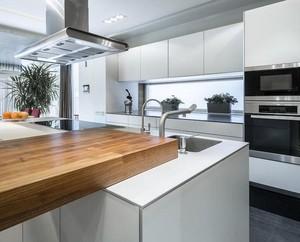 现代简约风格小户型厨房装修效果图实例