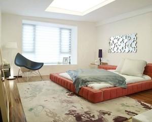 2016三居室卧室榻榻米设计装修效果图
