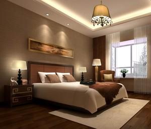 90平米大户型现代卧室设计装修效果图欣赏