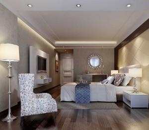 小户型欧式室内卧室装修效果图实例