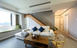 复式楼宜家简约温馨舒适轻松公寓装修实景图鉴赏
