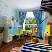 2016年现代简约风格时尚创意儿童房装修效果图