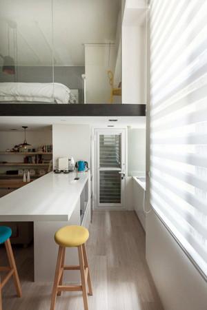 60平米跃层现代loft风格创意公寓装修效果图赏析