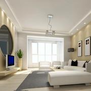 小户型极简主义风格时尚创意客厅装修效果图