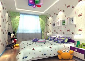 2016年全新款简约风格儿童房装修效果图