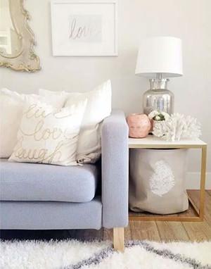 120平米北欧风格简约客厅沙发装修效果图