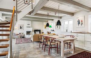 90平米都市简约风格精致厨房装修效果图大全