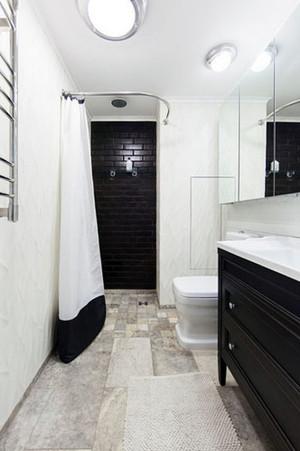60平米时尚家居现代loft风格单身公寓装修效果图