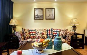 美式风格精致三居室公寓装修效果图赏析