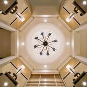 别墅欧式风格吊顶装修效果图