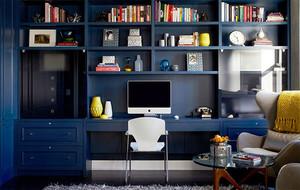 2016年简约风格时尚创意书房装修效果图赏析