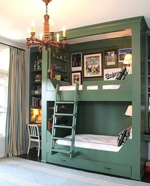 简欧风格三室两厅室内儿童房装修效果图