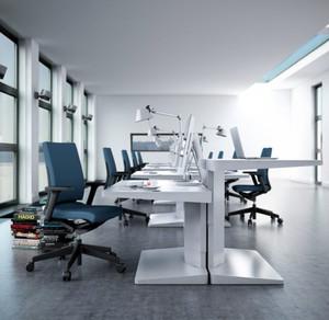 2016年全新款现代简约风格室内办公室装修效果图