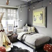 2016年北欧风格时尚创意大户型儿童房装修效果图