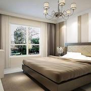 80平方米中式风格卧室装修效果图