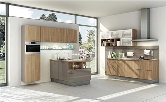 自建别墅田园风格清新自然厨房装修效果图