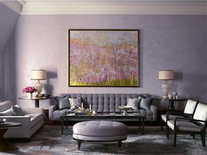 别墅欧式古典风格时尚流行客厅装修效果图