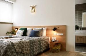 50平米自然清新简约风格公寓装修效果图赏析