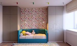 现代时尚混搭两室两厅公寓装修效果图赏析