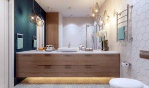 110平米现代都市温馨简约风格时尚创意公寓装修效果图