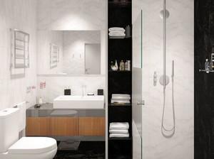65平米极简主义风格时尚创意公寓装修效果图