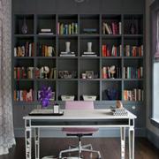 现代风格家居简约室内书房装修效果图