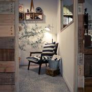 小户型现代简约风格客厅书房隔断装修效果图鉴赏