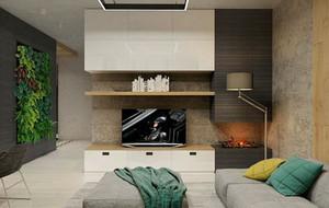 60平米现代简约风格自然舒适公寓装修效果图