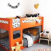 三室两厅现代时尚创意儿童房装修效果图
