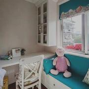 大户型简欧风格儿童房飘窗设计装修效果图