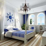 100平米地中海风格卧室装修效果图