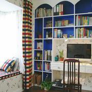 时尚混搭风格小户型书房装修效果图