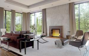 20平米现代风格时尚精致客厅装修效果图赏析