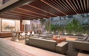 简约风格时尚创意室内客厅吊顶设计效果图