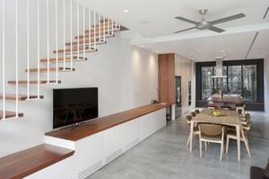 现代风格复式楼时尚创意楼梯装修效果图大全