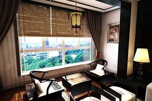 两居室日式简约风格阳台装修效果图