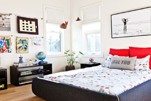 现代风情大户型时尚卧室装修效果图