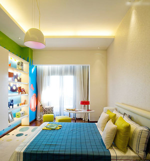 现代简约小户型儿童房装修效果图