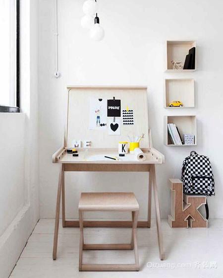 5平米北欧风格时尚创意小书房装修效果图赏析