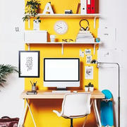 80平米时尚创意小书房装修效果图赏析