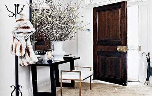 两居室北欧风格清新玄关装修效果图大全