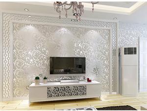 欧式风格电视背景墙装修效果图