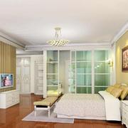 100平米现代简约风格卧室装修效果图