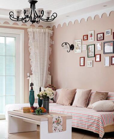 温馨客厅装修图