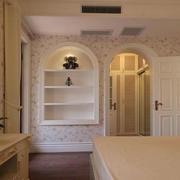 现代简约时尚卧室设计效果图